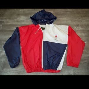 Vtg 1992 Atlanta USA OLYMPICS Jacket Coat Large